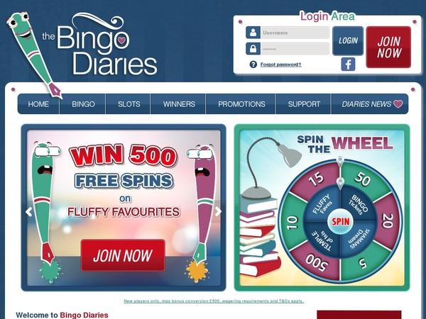 Bingo Diaries For Real