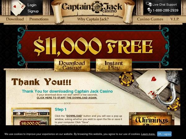 Captainjackcasino Free Bonus No Deposit
