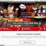Dreamjackpot Register Bonus