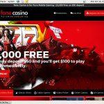 Fone Casino Odds