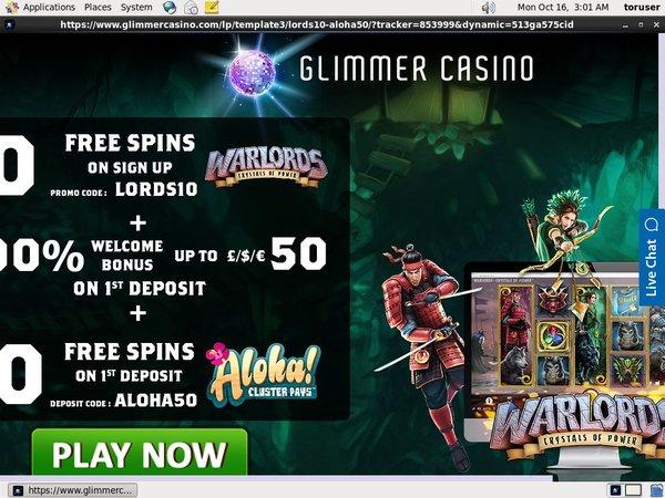 Glimmer Casino Uk