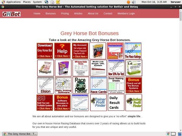 Grey Horse Bot Mobile