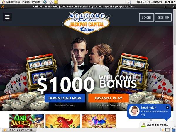 Jackpot Capital Bet Free