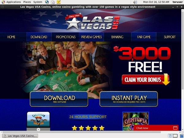 Las Vegas USA Casino Access