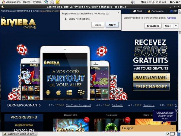 Rivieracasino No Deposit Bonus Code