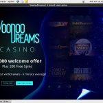 Voodoo Dreams No Wagering