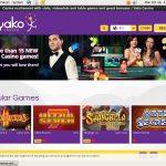 Yako Casino Bet Bonus
