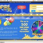 Empire Bingo Deposit Limit