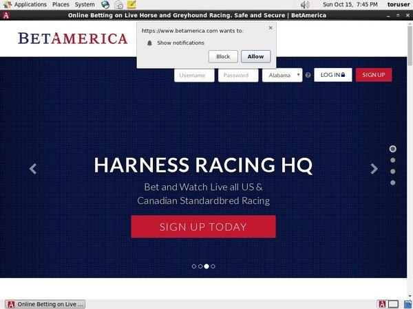 Betamerica Horse Racing