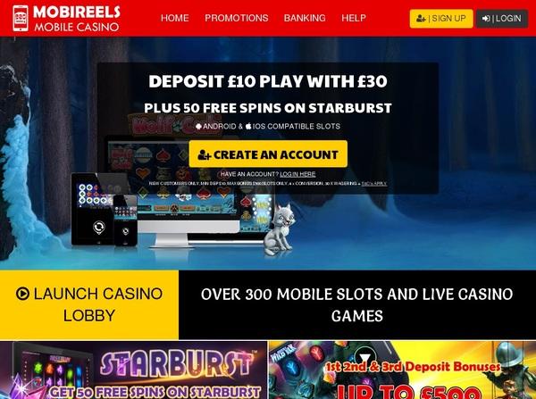 MobiReels Pay Pal Deposit