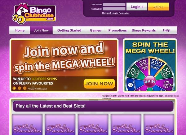Bingoclubhouse Free Games