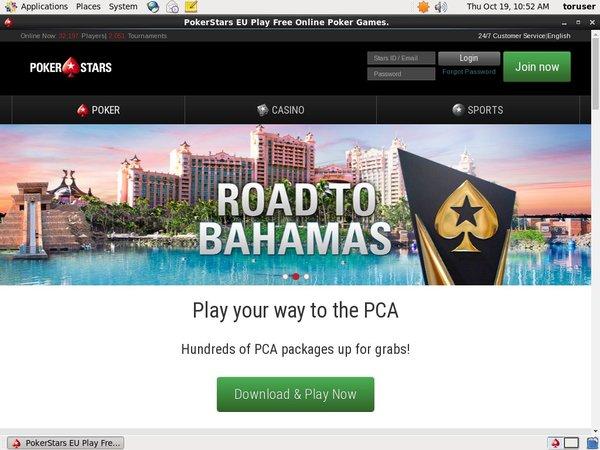 Poker Stars Sign Up Bonuses