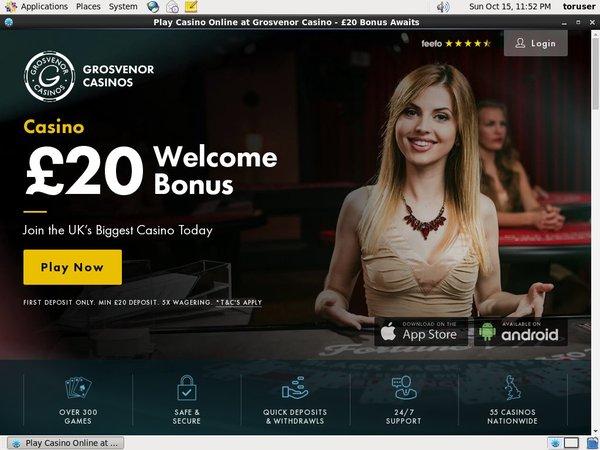 Grosvenor Bonus Casino