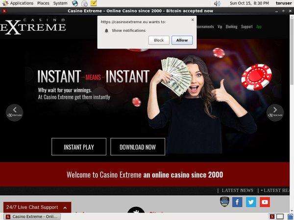 Casino Extreme Neteller