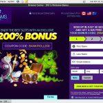 Dreamscasino Discount Offer