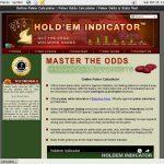 Holdem Indicator 레지스터