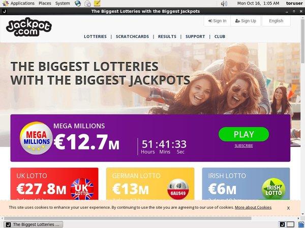 Jackpot.com Deposit Bitcoin