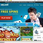 Play Million New Account Promo