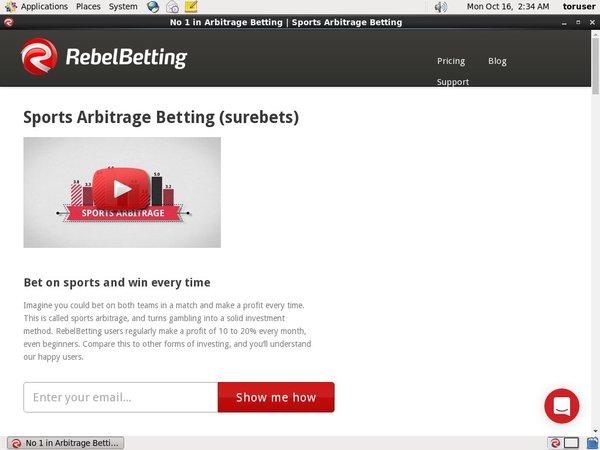 Rebel Betting Free