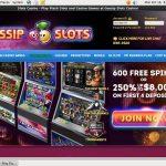 Signup Bonus Gossip Slots