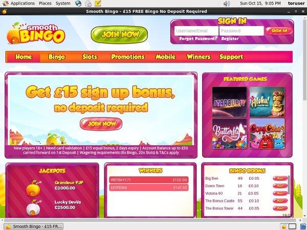 Smoothbingo Casino Reviews