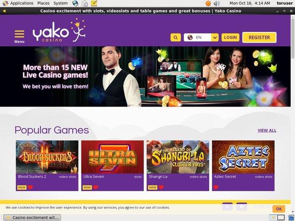 Discount Yako Casino