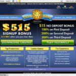 Lion Slots 1st Deposit Bonus