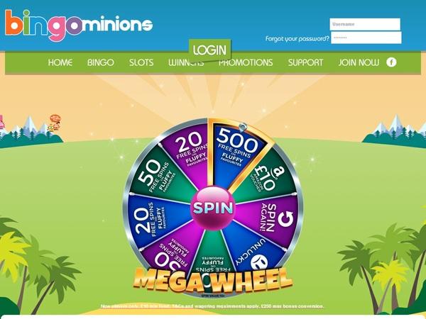 Bingominions Spelautomater