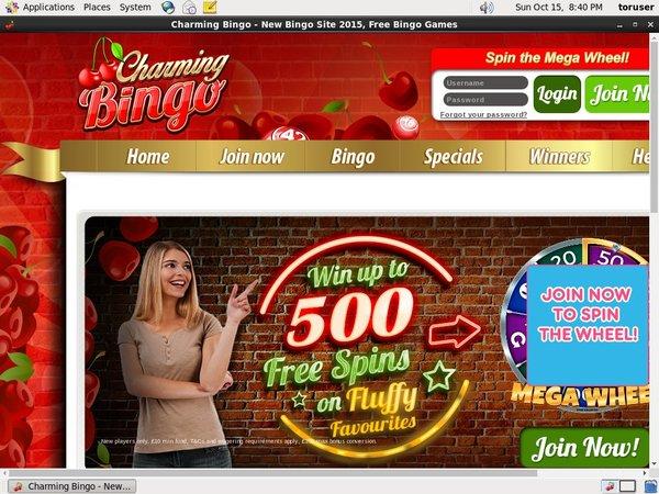 Charming Bingo Free Rolls