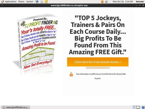 TJ Profit Finder Offer Paypal?