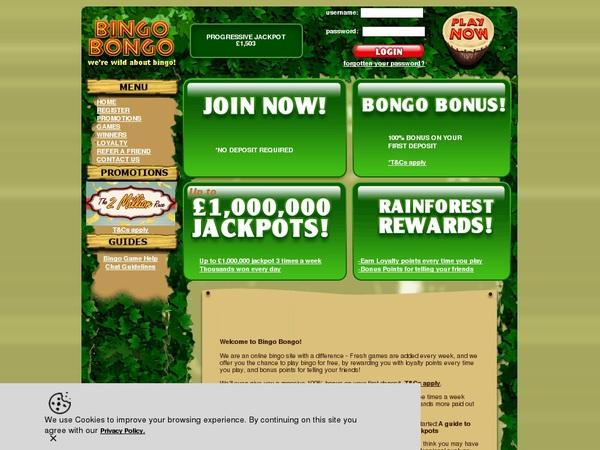 Bingobongo High Limits