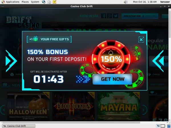 Drift Casino Prize