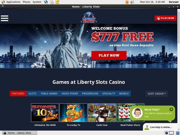 Libertyslots Free Bet Rules