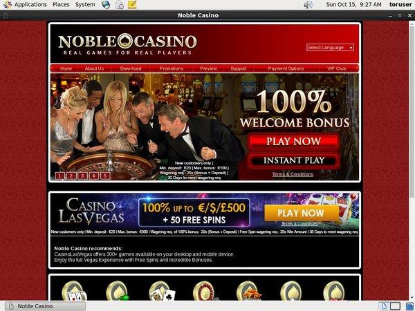Noble Casino Games App