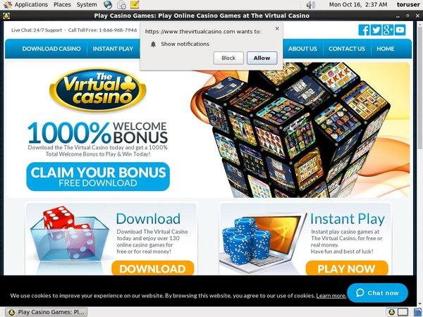 Virtual Casino English