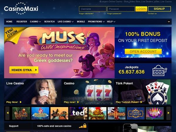 Casino Maxi Euros No Deposit
